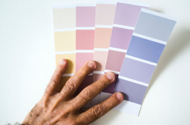 Farbpalette Wandfarbe
