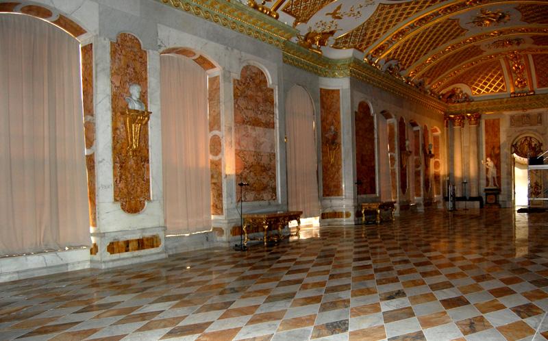 Sonnenschutz Schoss Sanssouci