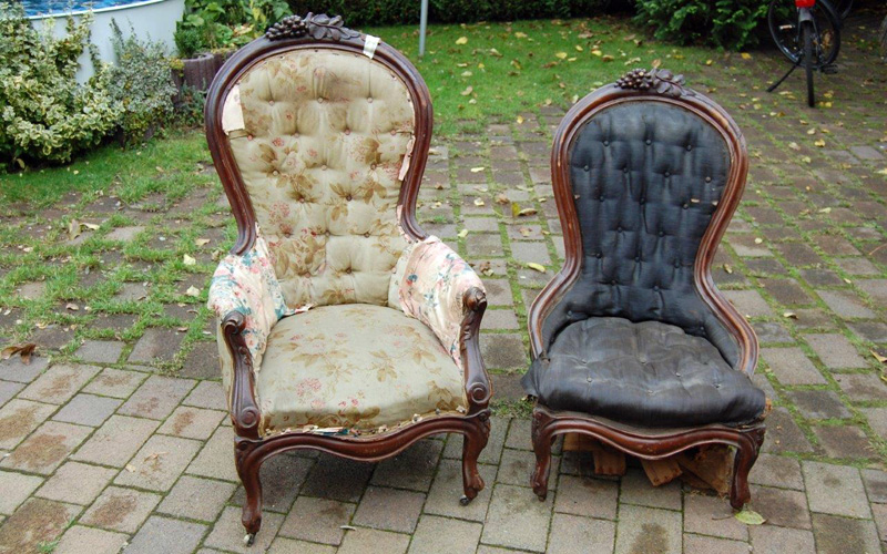 Lady and Gentlemen Chair 1870