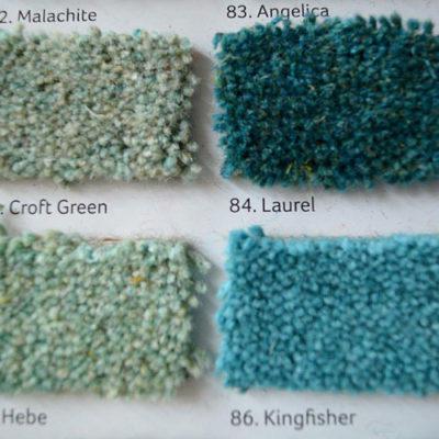 Hochwertige Englische Tepppichböden Farbpalette