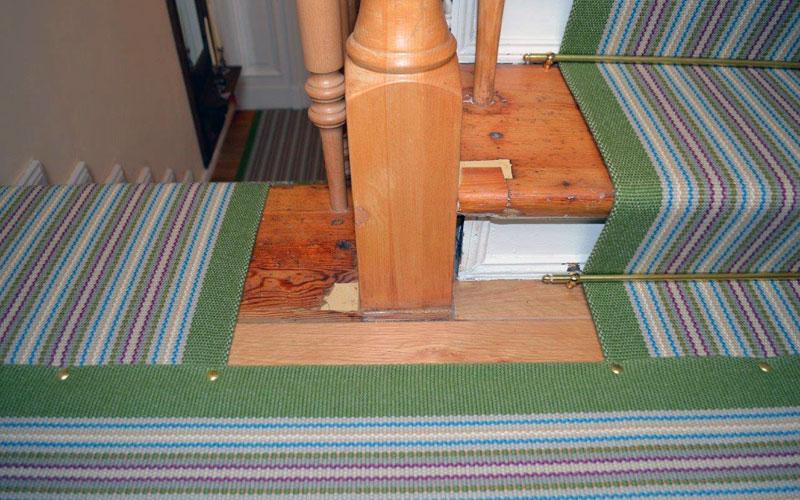 Teppichläufer von Fleetwood Fox auf Treppenpodest