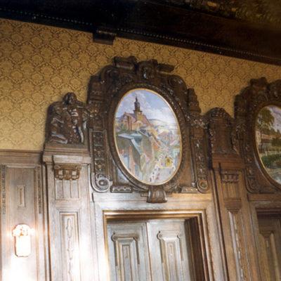 Wandbespannung im Rathaus Werdau